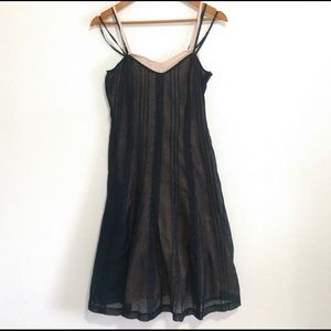 Layered Odille Anthropologie Black and Pin…